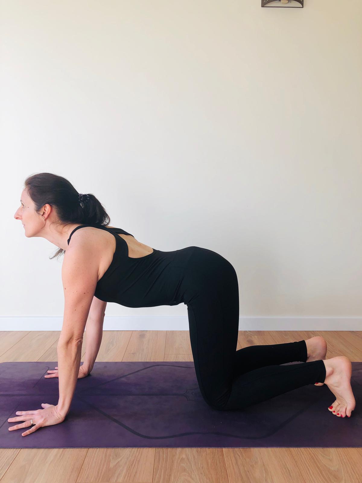 combinaison de yoga noire