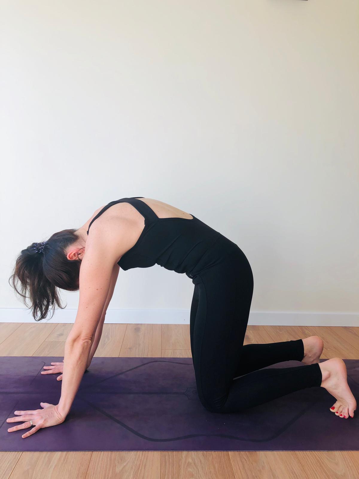 Vêtement yoga noire