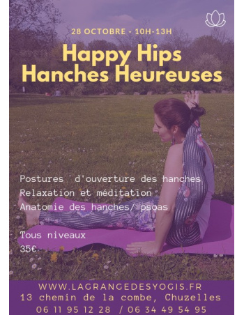 "Atelier Yoga ""Happy Hips"""