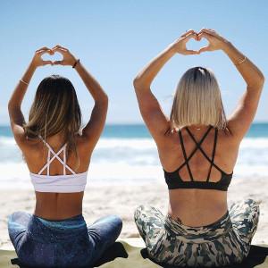 Brassière de yoga