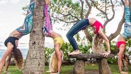 Leggings femme yoga