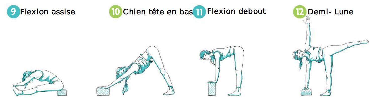 Comment_utiliser_briques_yoga: postures pour la souplesse