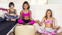 vêtement yoga enfant